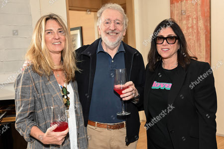 Stock Photo of Paulette Holland Bartlett, Phil Alden Robinson and Stacey Sher