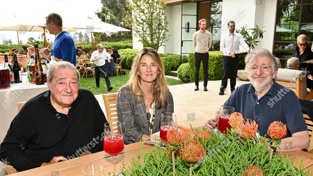 Bob Arum, Paulette Holland Bartlett and Phil Alden Robinson