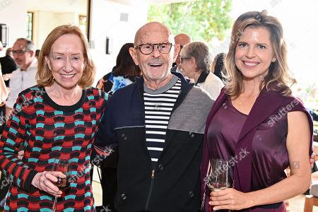 Doris Kearns Goodwin, Mo Ostin and Elena Schuber