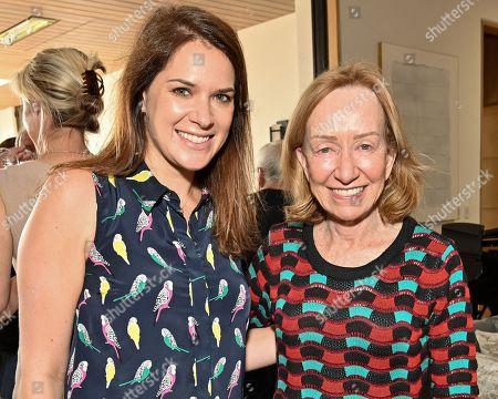 Julie Rapaport and Doris Kearns Goodwin