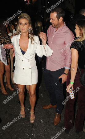 Danny Dyer and wife Joanne Mas