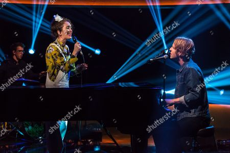 Editorial image of 'The Jonathan Ross Show', TV show, Series 13, Episode 7, London, UK - 13 Oct 2018