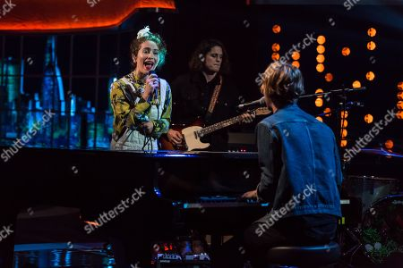 Stock Picture of Rae Morris and Tom Odell