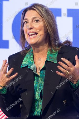 Carolyn McCall DBE, CEO of ITV in conversation at the Festival of Marketing held at Tobacco Dock.
