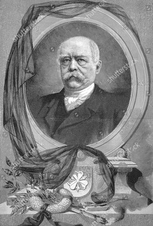 Otto Eduard Leopold, Prince of Bismarck, Duke of Lauenburg, 1815, 1898, known as Otto von Bismarck, woodcut, Germany