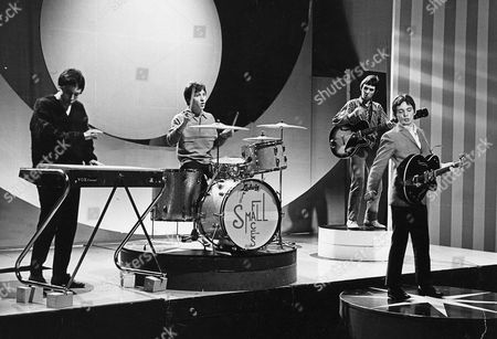 The Small Faces - Jimmy Winston, Kenny Jones, Ronnie Lane and Steve Marriott