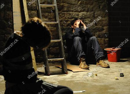 'Unforgiven'  TV - 2009 -  Emily Belcombe [Flora Spencer-Longhurst] and Steve Whelan [Matthew McNulty].