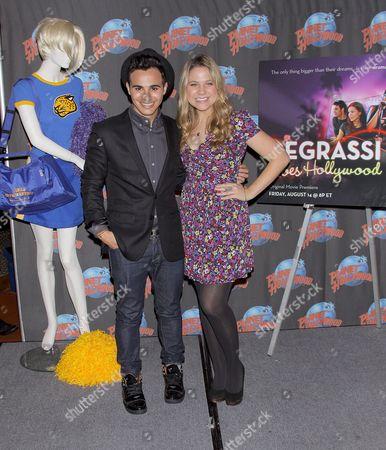 Adamo Ruggiero and Lauren Collins