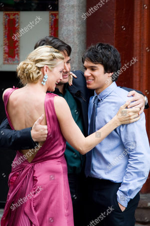Kelly Rutherford, Matthew Settle and Chris Riggi