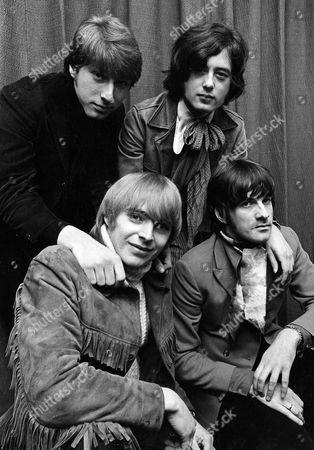 The Yardbirds - Keith Relf, Chris Dreja, Jimmy Page and Jim McCarty