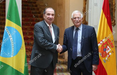 Editorial image of Brazilian Foreign Minister Ferreira visits Madrid, Spain - 11 Oct 2018