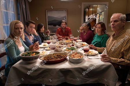 Meredith Hagner as Abbie, Jon Barinholtz as Pat, Carrie Brownstein as Alice, Ike Barinholtz as Chris, Tiffany Haddish as Kai, Nora Dunn as Eleanor, Chris Ellis as Hank