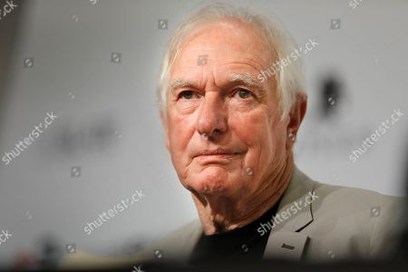 Australian director Peter Weir poses for photographers during a press conference held before receiving the Sitges International Fantastic Film Festival's Honorary Award in Sitges, near Barcelona, northeastern Spain, 11 October 2018. The Sitges Fantastic Film Festival runs from 04 to 14 October 2018.