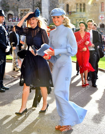 Chelsy Davy and Lady Melissa Percy