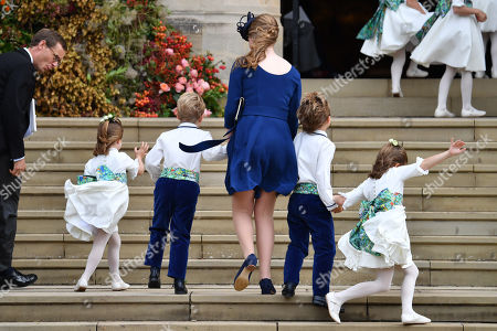 Princess Charlotte, Prince George and Theodora Williams