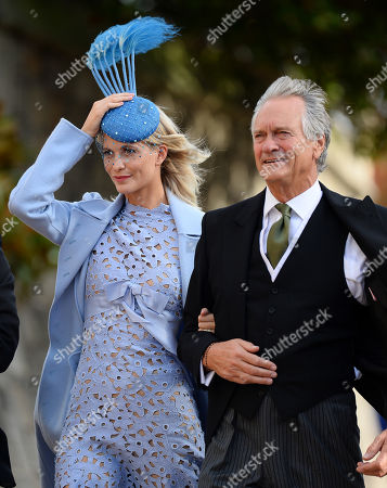 Stock Photo of Poppy Delevingne and Charles Delevingne