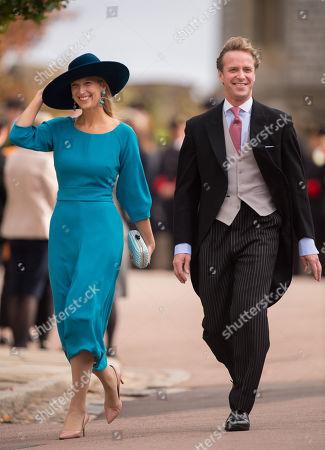 Stock Image of Lady Gabriella Windsor and Thomas Kingston