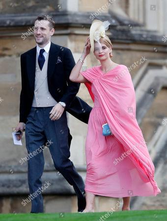 Pixie Geldof and George Barnett