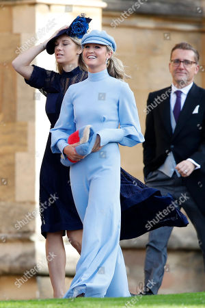 Stock Picture of Chelsy Davy and Lady Melissa Percy