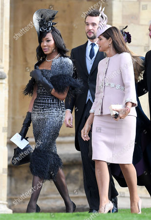 Naomi Campbell and Countess Debonnaire von Bismarck