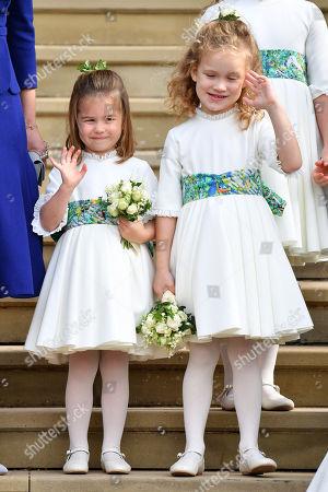 Princess Charlotte and Maud Windsor