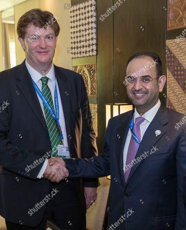 Editorial image of Kuwait AIIB Meeting, Bali, Indonesia - 11 Oct 2018