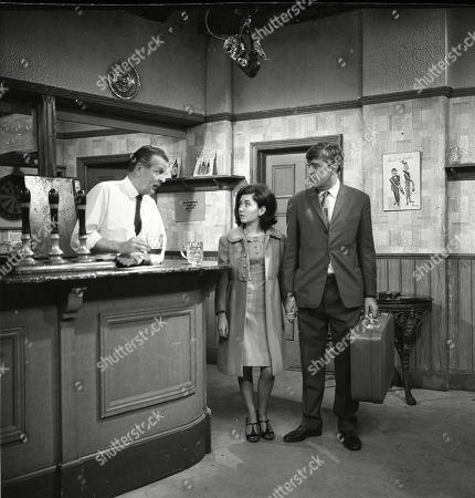 Jack Allen (as Arthur Walker), Jennifer Moss (as Lucille Hewitt) and Ivan Beavis (as Harry Hewitt)