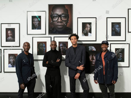 Editorial image of 'Black is the New Black' exhibition, National Portrait Gallery, London, UK - 10 Oct 2018