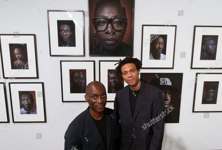 Ekow Eshun and Charlie Casely-Hayford