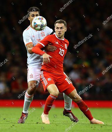 Editorial image of Wales v Spain, International Friendly, Football, Principality Stadium, Cardiff, UK - 11 Oct 2018