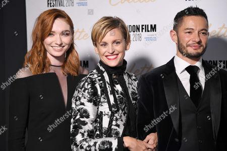 Eleanor Tomlinson, Denise Gough and Jake Graf
