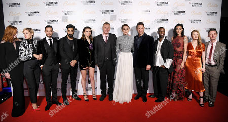 Editorial picture of 'Colette' premiere, BFI London Film Festival, UK - 11 Oct 2018