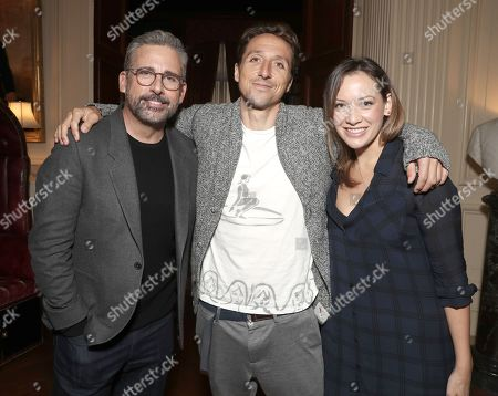 Steve Carell, Author Nic Sheff and Jette Newell