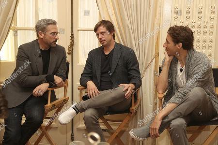 Steve Carell, Felix Van Groeningen and Author Nic Sheff