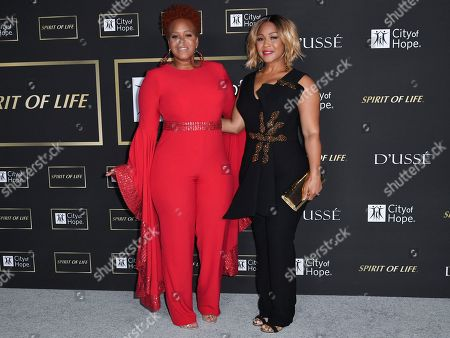 "Trecina ""Tina"" Campbell and Erica Atkins of Mary Mary"