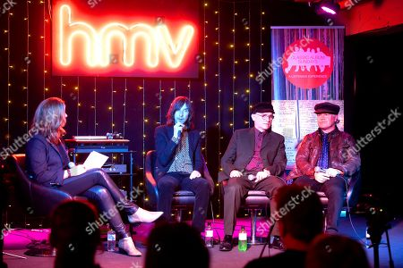 Bobby Gillespie, Andrew Innes and Martin Duffy of Primal Scream in conversation with Colleen 'Cosmo' Murphy