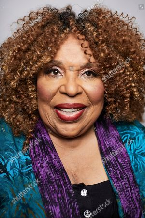 In this Oct. 10, 2018 photo, singer Roberta Flack poses for a portrait in New York. The 81-year-old music legend will be honored, with a lifetime achievement award by the Jazz Foundation of America