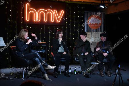 Stock Image of Primal Scream - Colleen 'Cosmo' Murphy, Bobby Gillespie, Andrew Innes, Martin Duffy
