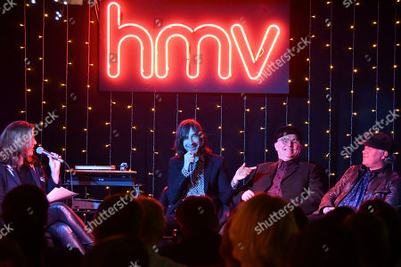 Editorial image of Primal Scream 'Give Out But Don't Give Up' Album Signing, HMV, London, UK - 11 Oct 2018