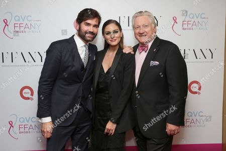 Michael Atmore, Olivia Palermo and Ron Fromm