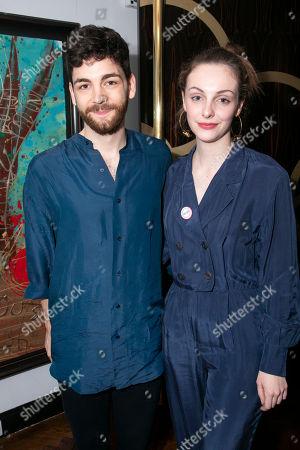 Stock Image of Jamie Armitage and Helena Wilson (Mariana)