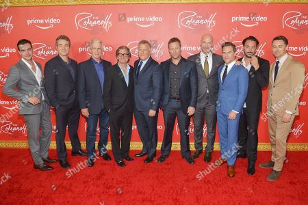 Juan Pablo Castaneda, Jon Tenney, James Naughton, Griffin Dunne, Paul Reiser, Corey Stoll, Mike Doyle, Jack Huston and JJ Feild
