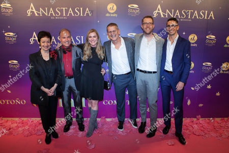 Editorial image of 'Anastasia The Musical' premiere, Madrid, Spain - 09 Oct 2018
