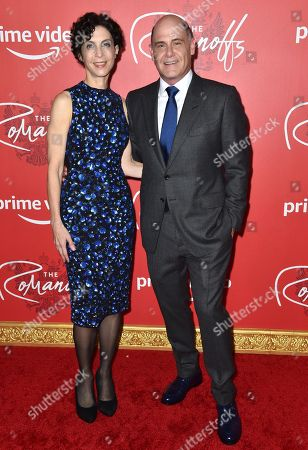 Linda Brettler and Writer, Executive Producer and Director Matthew Weiner
