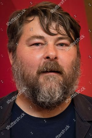 Ben Wheatley poses for photographers upon arrival at the screening of the film 'Happy New Year, Colin Burstead' showing as part of the BFI London Film Festival in London