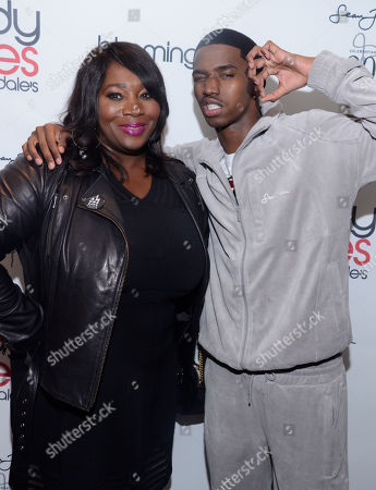 Stock Picture of Bevy Smith and Christian Combs