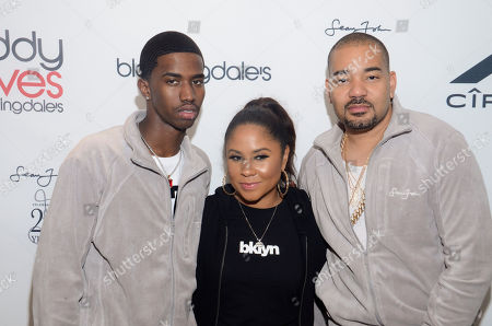 Christian Combs, Angela Yee and DJ Envy