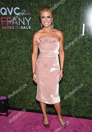 "Jill Martin attends QVC's ""FFANY Shoes on Sale"" 25th anniversary gala at the Ziegfeld Ballroom, in New York"