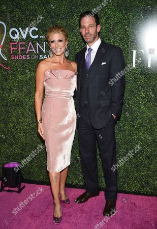 """Jill Martin and guest attend QVC's """"FFANY Shoes on Sale"""" 25th anniversary gala at the Ziegfeld Ballroom, in New York"""