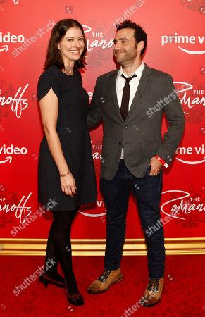 Vanessa Britting and David Krumholtz